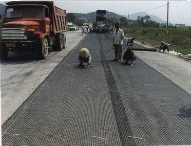 路面用玻纖復合格柵 增城廠家玻纖