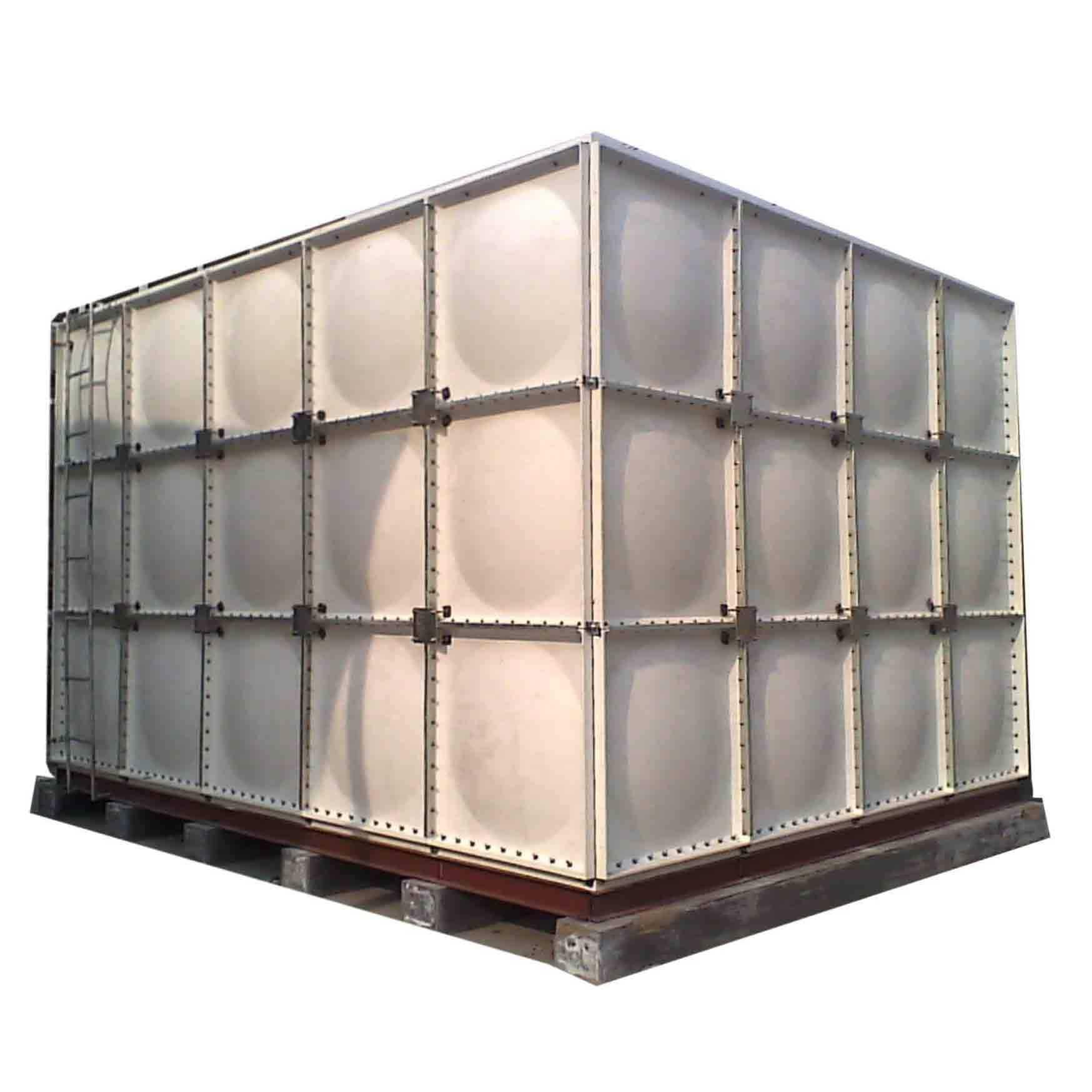 濰坊玻璃鋼水箱、污水處理冷卻塔廠家定制 聯豐玻璃鋼