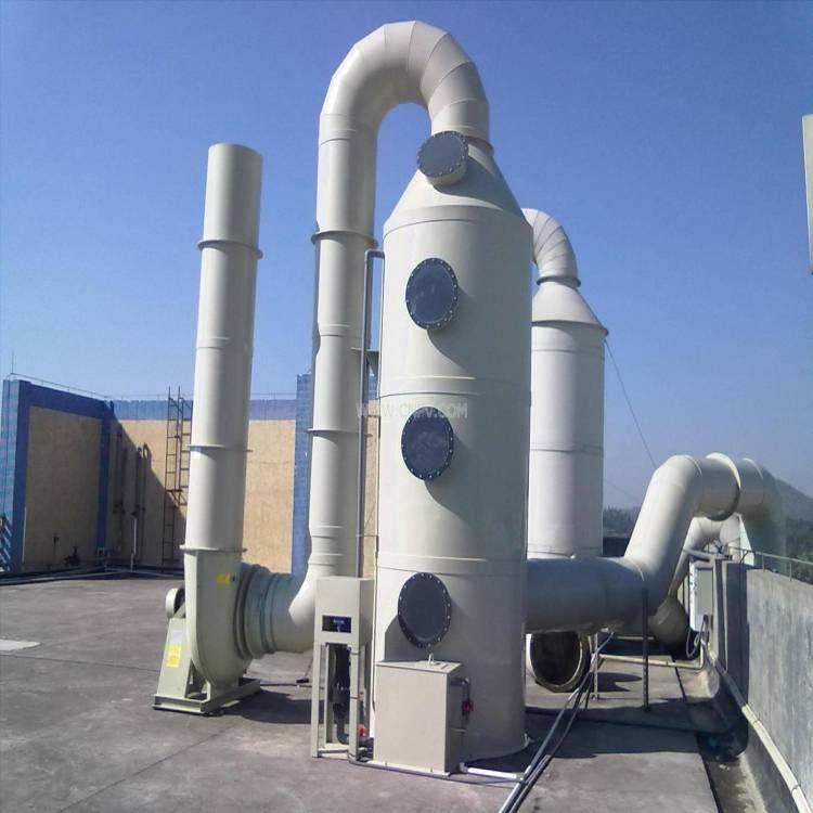 廢氣廢水工程冷卻塔系統玻璃鋼罐解決方案:山東聯豐