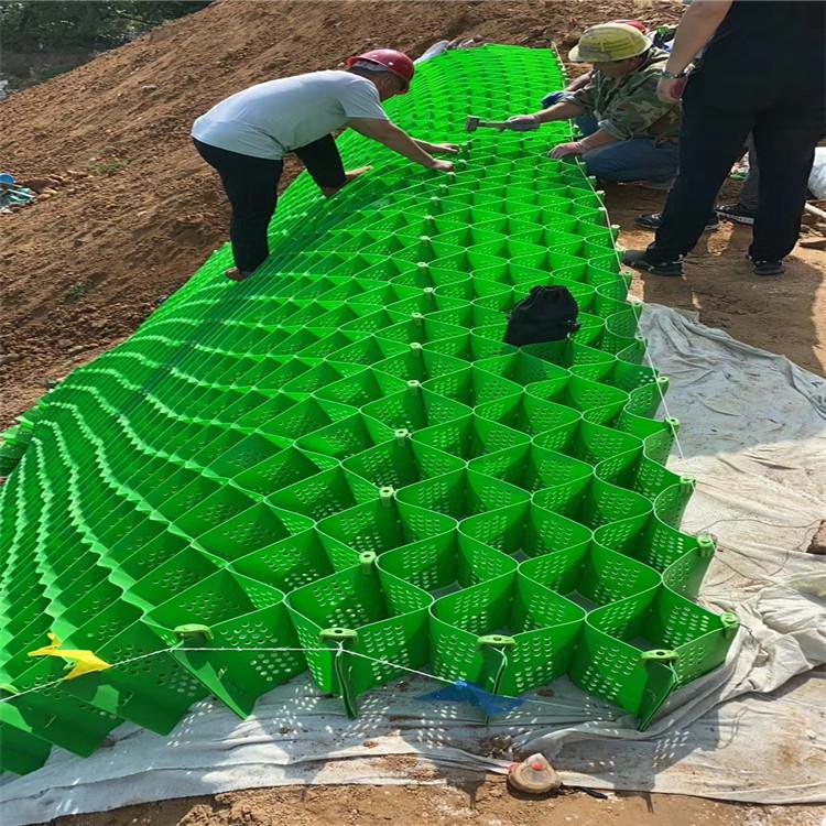 蜂巢土工格室展2021銅川框架土工格室植草(新消息發布)
