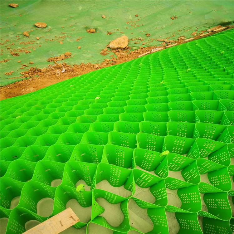 蜂巢土工格室展2021梧州蜂巢約束系統護坡(新消息發布)