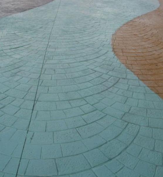 芜湖广场高承载压模地坪