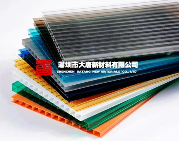 三亞遮陽棚陽光板瓊山擋雨棚陽光板工廠開料定制
