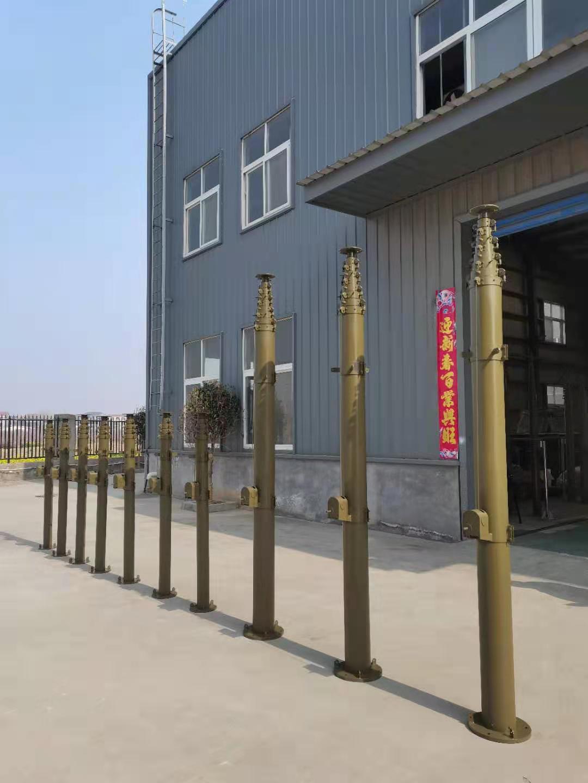 供應通訊避雷針碳纖維移動升降桿6米8米10米手搖 便攜式天線監控車載升降桿