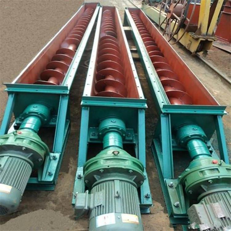 螺旋上料机 移动式螺旋输送机 单轴螺旋给料机