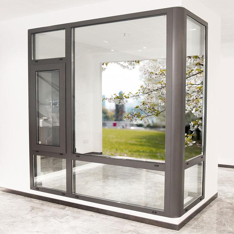 117斷橋鋁門窗系統門窗佛山希歐鋁合金門窗廠