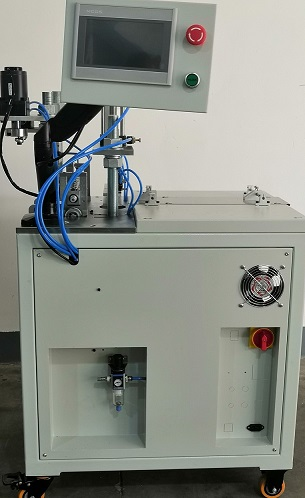 全自動超聲波塑頭無膠片打頭切斷機