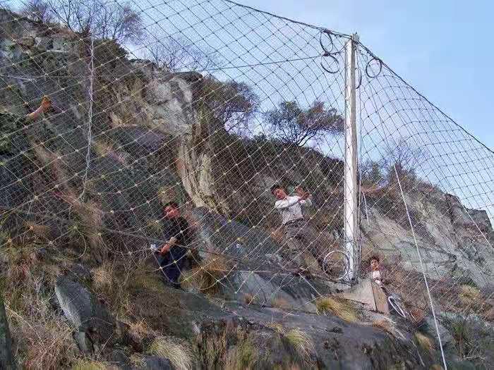 安徽礦山邊坡菱形被動防護網rx-075