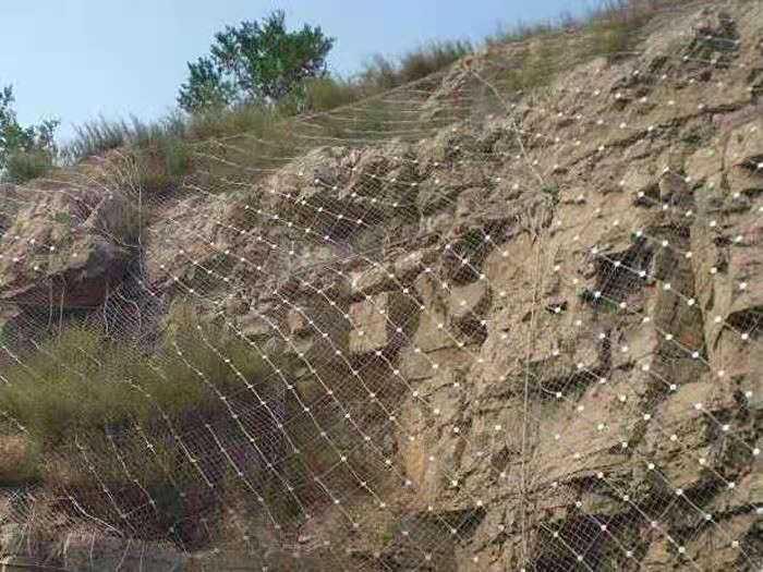 西藏道路邊坡柔性gps2型主動防護網