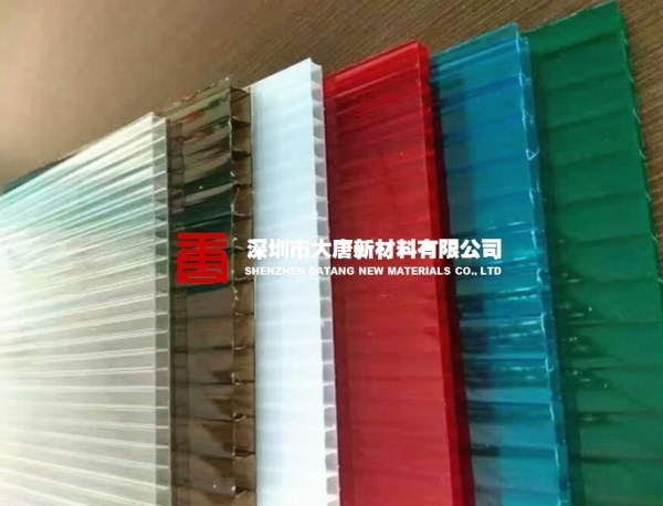 深圳市車棚雨棚pc陽光板