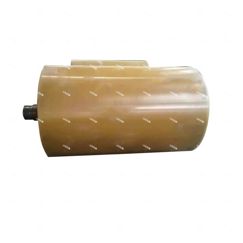輸送機聚氨酯包膠滾筒廠家加工定制