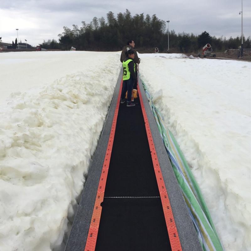 雪場魔毯恒溫輸送 諾泰克爬坡輸送帶速度變頻調控