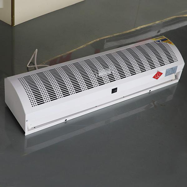 贯流式风幕机、顶吹式自然风风幕机、工业冷暖风帘空气幕