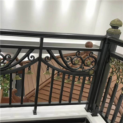 半圓陽臺護欄 自建房陽臺護欄 陽臺玻璃欄桿的價格