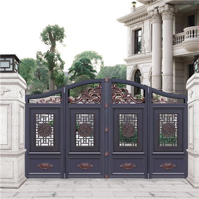別墅庭院圍欄 別墅院門 新農村庭院大門的價位