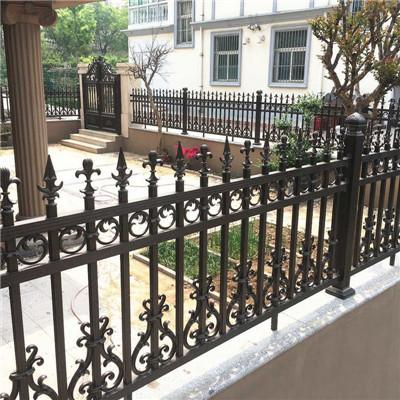 防銹別墅圍墻護欄 室外鋁合金欄桿護欄 別墅圍墻柵欄---產品