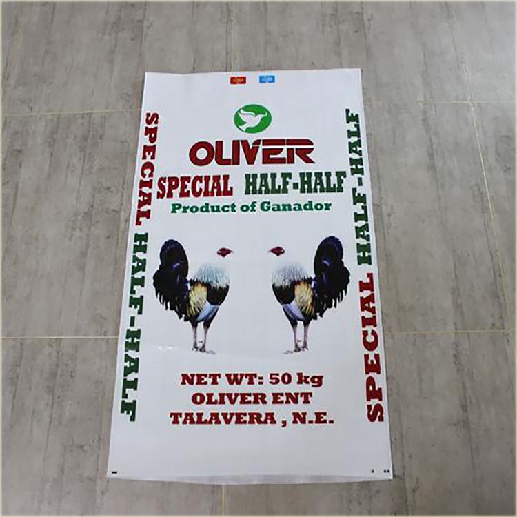 滑县编织袋生产厂家加工肉小鸡饲料袋