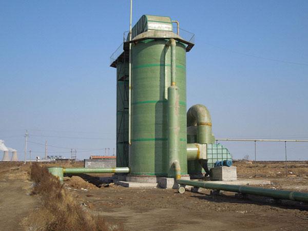 電廠玻璃鋼脫硫塔