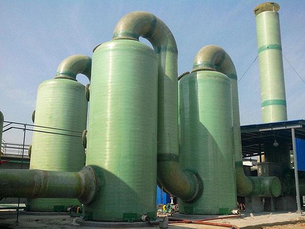 鍋爐玻璃鋼脫硫塔