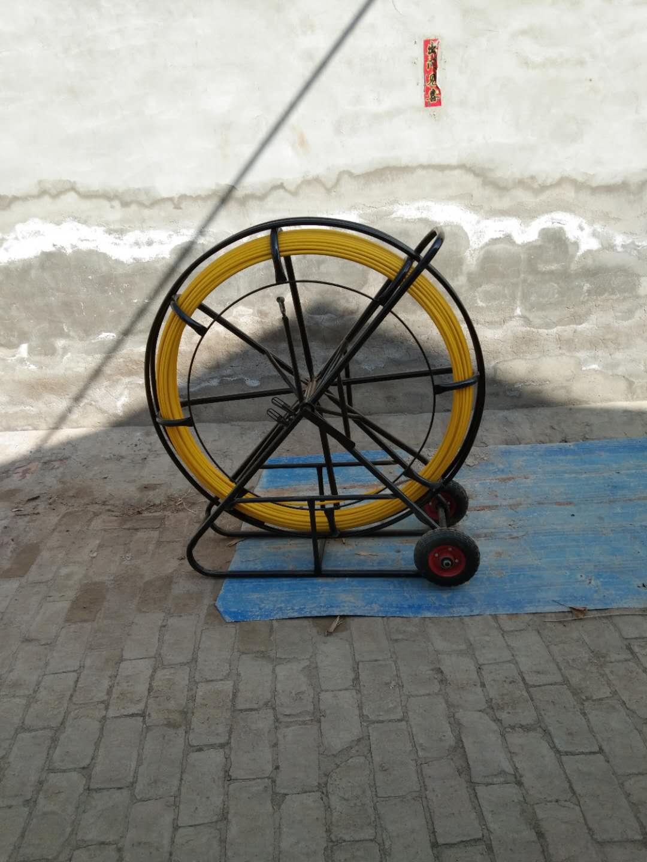 穿線器 玻璃鋼穿孔器 電纜穿孔器 線管疏通器加固小車