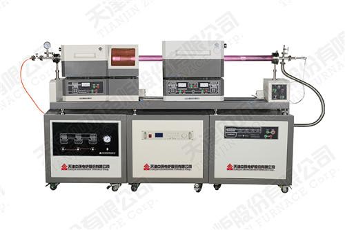 1200預加熱滑動雙溫區/多溫區pecvd系統 河北高溫箱式電爐