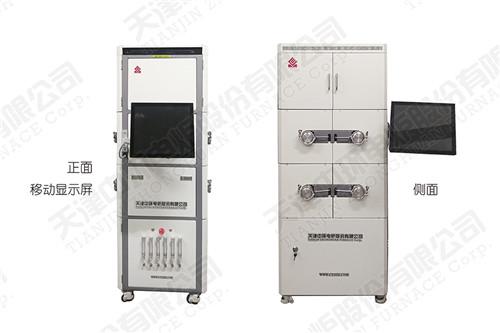 河南高溫管式電爐 多通道模塊化燒結系統