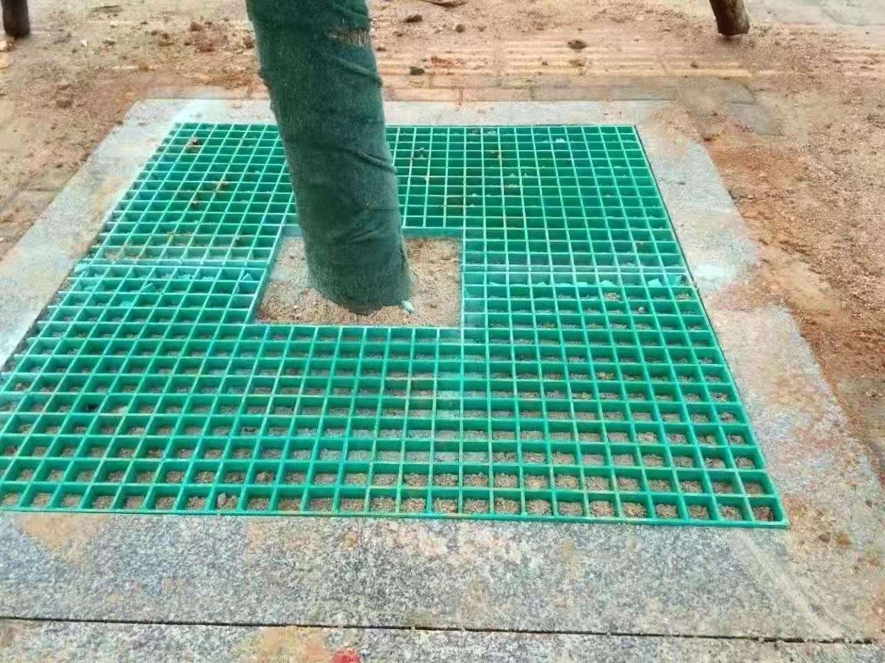 新疆玻璃钢树池盖板