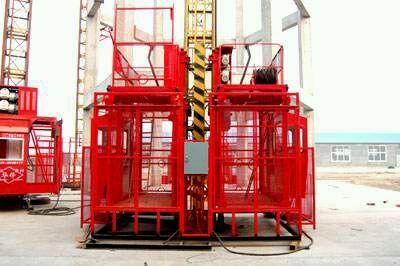 供應sc工地提升物料用齒條式物料提升機