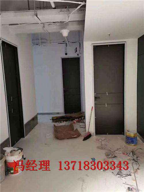 葫蘆島鋁木工程門 鋁木門 生態門每平米多少錢