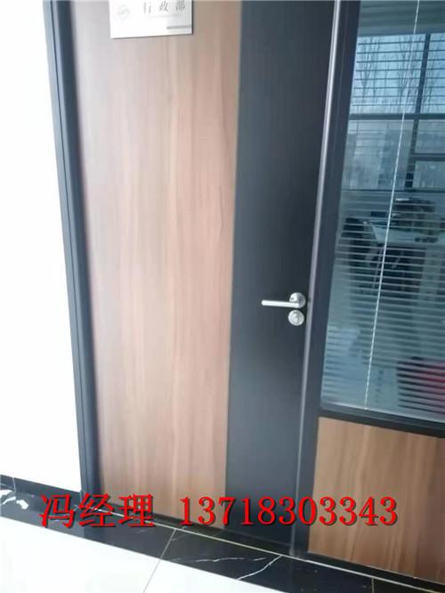 聊城鋁木工程門 鋁木門 生態門承接定制