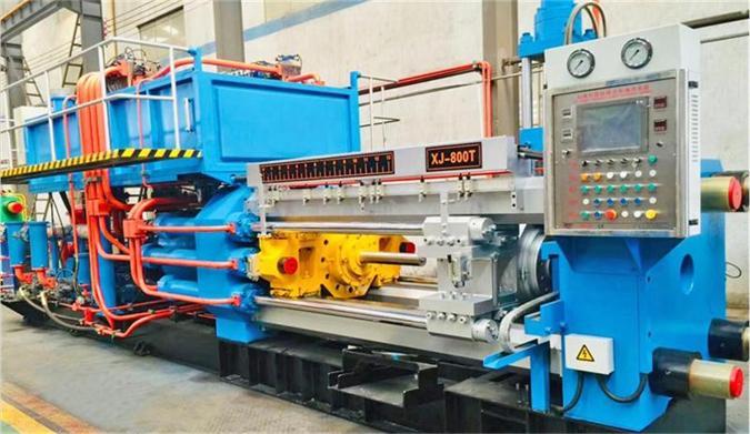 铝型材挤压机 固定垫挤压 降低生产线功率消耗