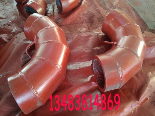 陶瓷復合耐磨彎頭重量輕、價格適宜
