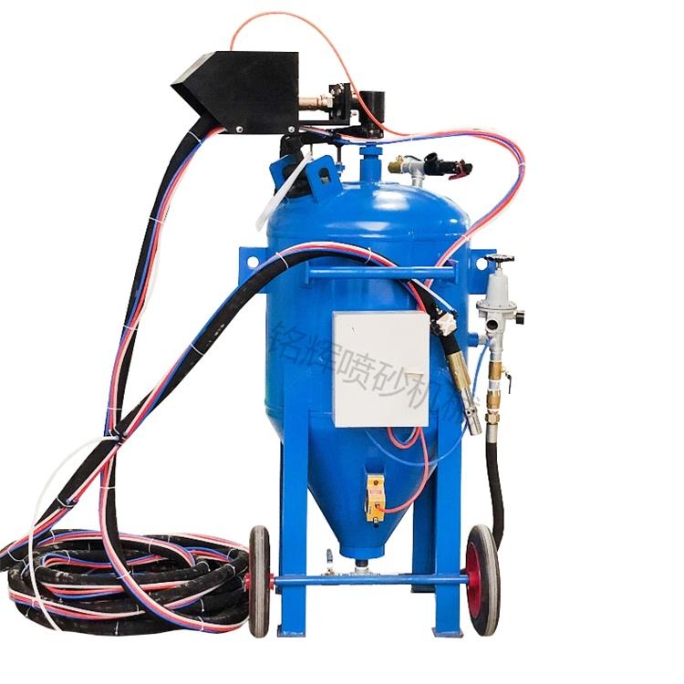 無塵除銹噴砂機 水噴砂無塵除銹設備