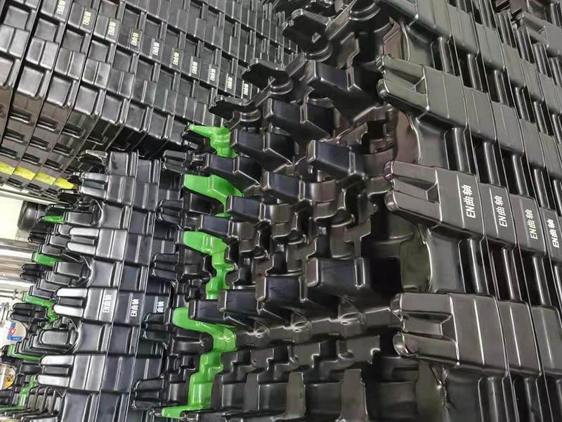 汽車內嵌式塑料殼體 汽車部件運輸吸塑托盤上海利久