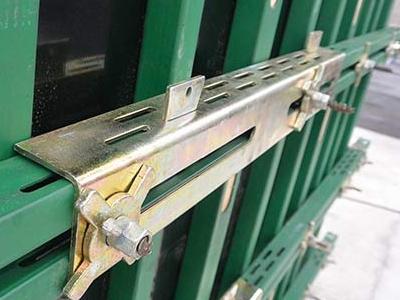 鋼木龍骨 鋼包木 鋼木方 建筑用鋼木方可循環可租賃