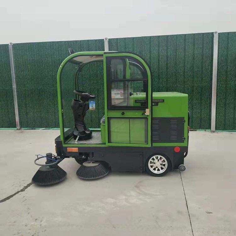 供應全封閉駕駛式小型物業清掃車 駕駛式物業小區自動掃地機