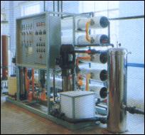 1t/h二級反滲透純水機