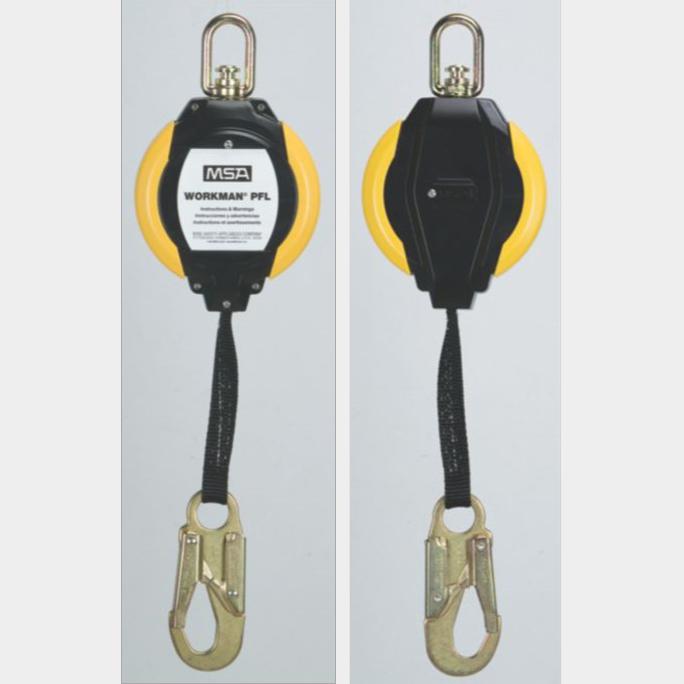 msa梅思安沃克曼鍍鋅鋼纜速差器使用方法注意事項
