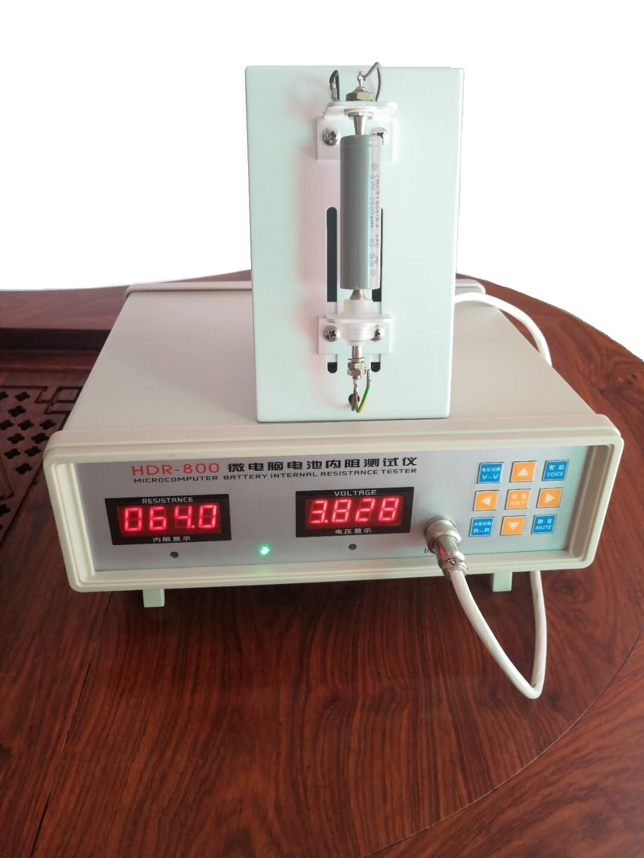 hdr-800微電腦電池內阻測試儀18650聚合物電芯內阻檢測儀