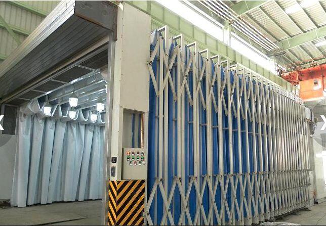 多功能移動伸縮噴漆房 在行業中的應用