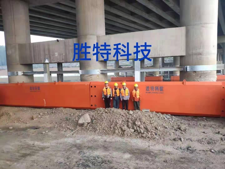 平頂山沙河復航橋梁防撞工程