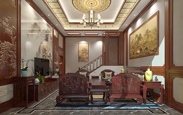 中式風格別墅設計、中式別墅裝修