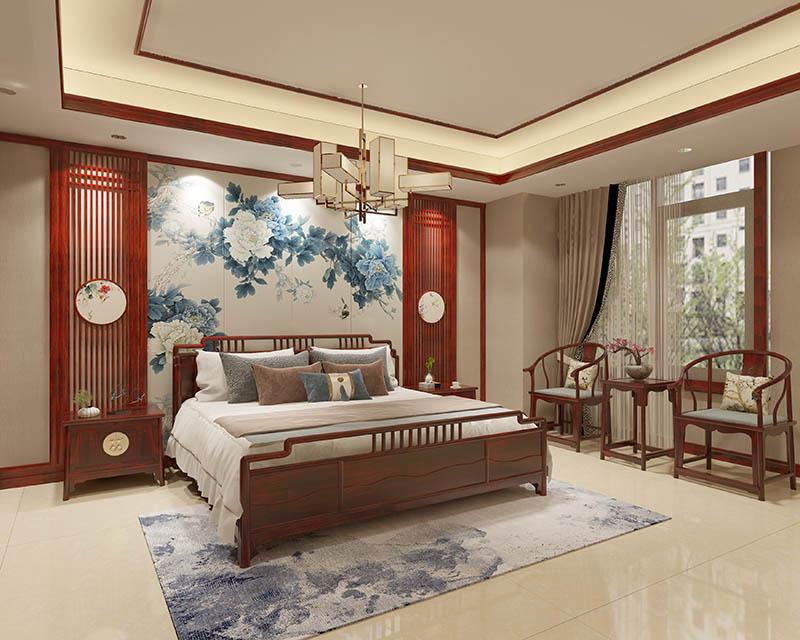 中式別墅裝修設計施工服務 家具產品優化配套